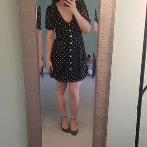 Wilfred polka dot dress size 8